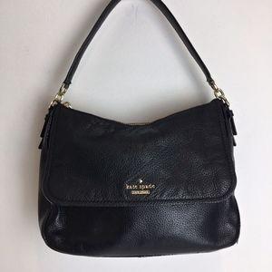 KATE SPADE med size leather shoulder bag black